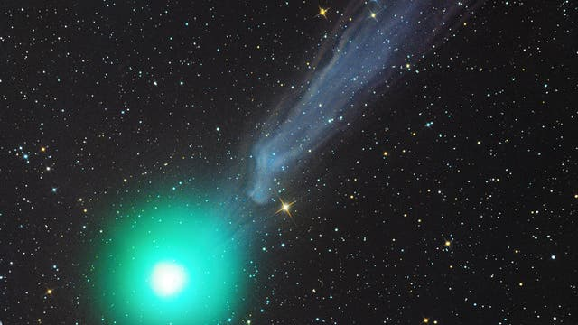 Komet C/2014 Q2 (Lovejoy) am 8. Januar 2015