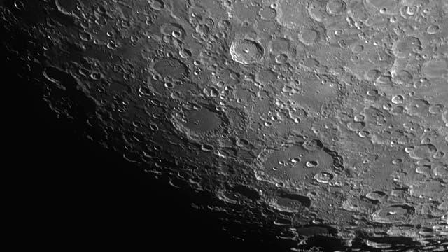 Mondkrater Clavius am 13.11.2013 mit ETX 125