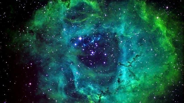 NGC 2244 - der Rosettennebel