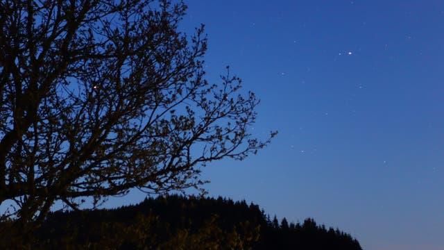 Eifelmorgen mit Jupiter und Saturn