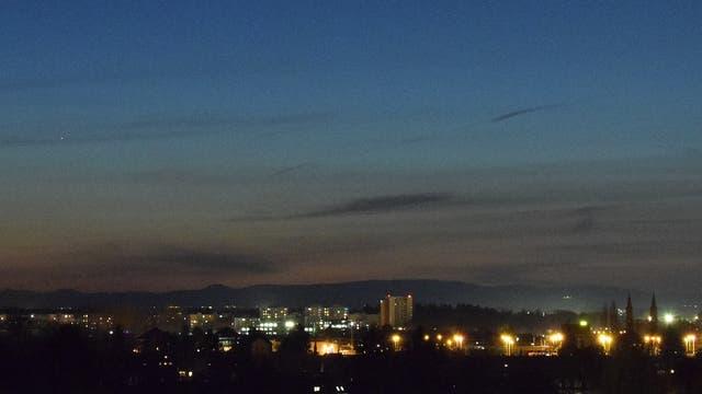 Merkur und Venus am Abendhimmel - 3