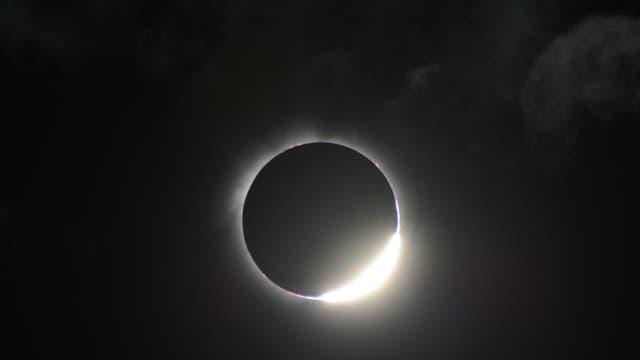 Totale Sonnenfinsternis am 3.11.2013 in Gabun, West Afrika, Benguie IV