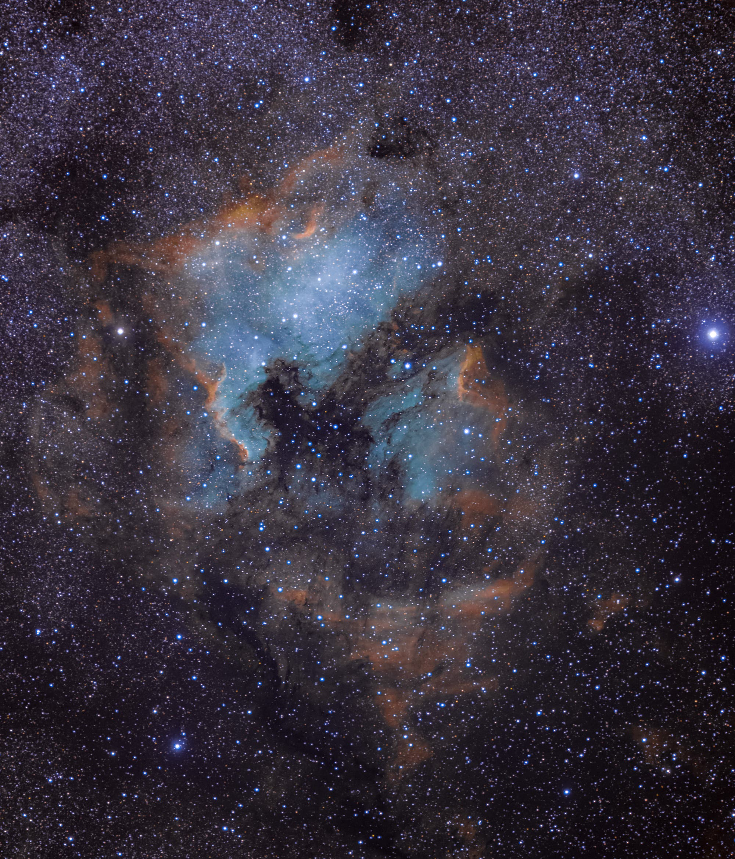 Deneb Region im Sternbild Schwan