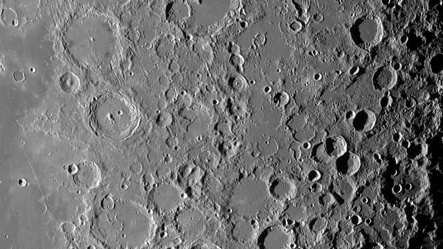 Der Mond am 30. Juli 2021 (1)