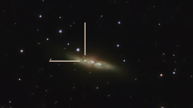 Supernova SN2014J