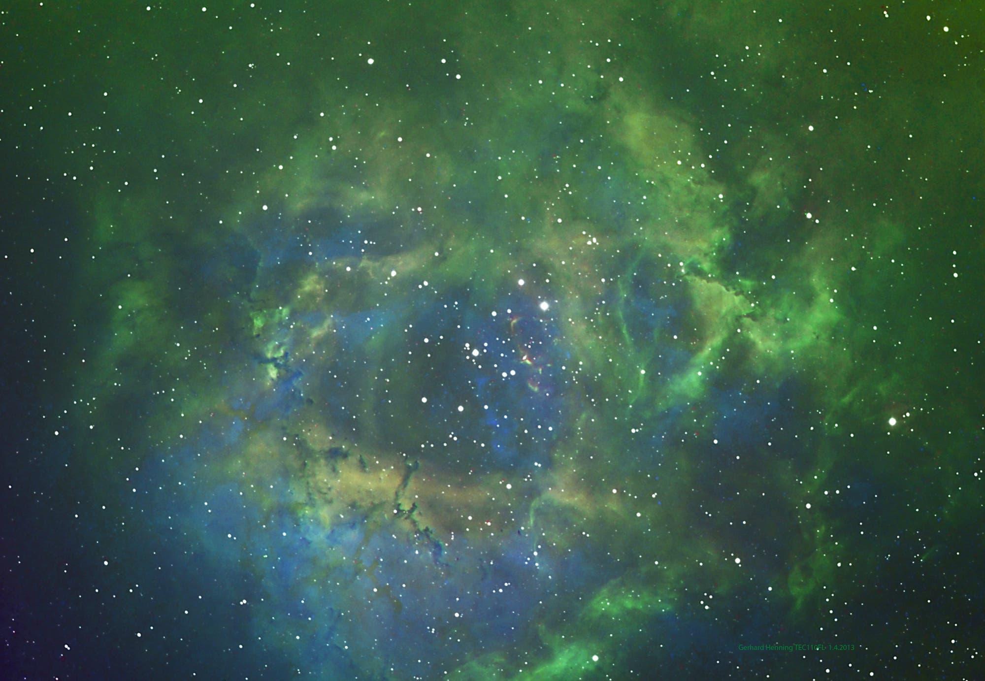 NGC-2244 Bicolor