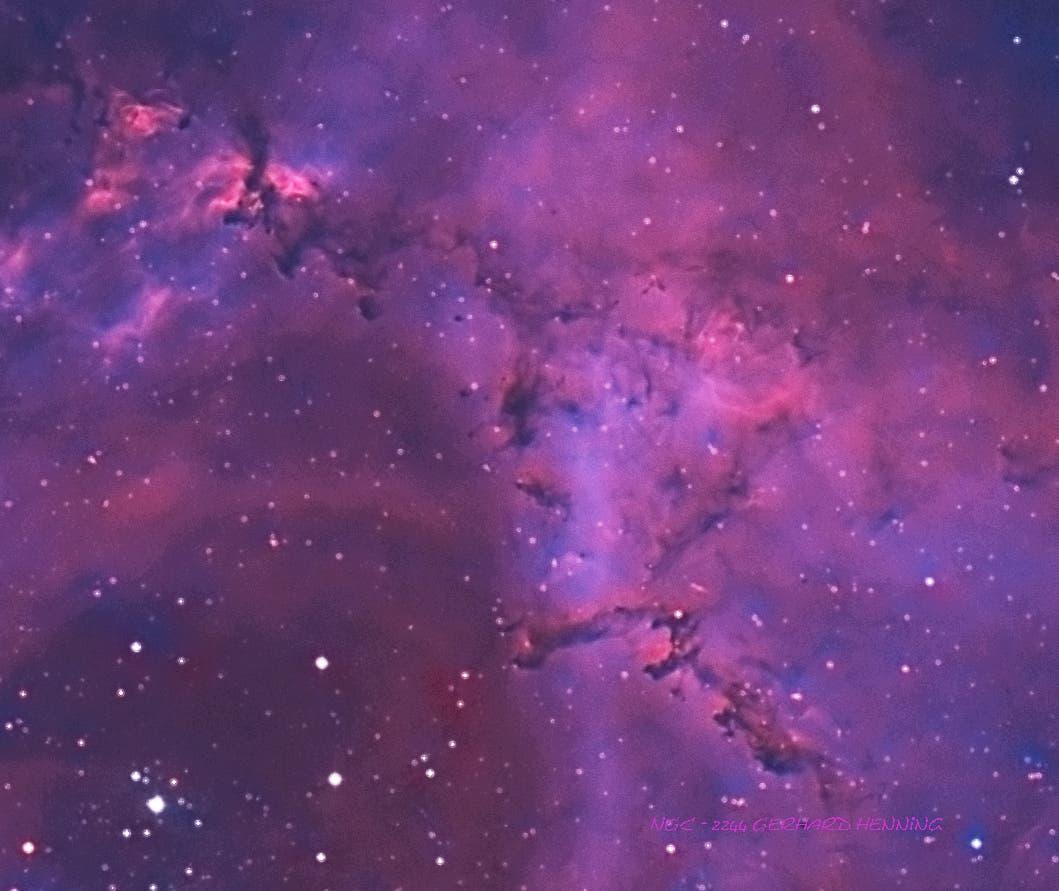 NGC 2244, Ausschnitt