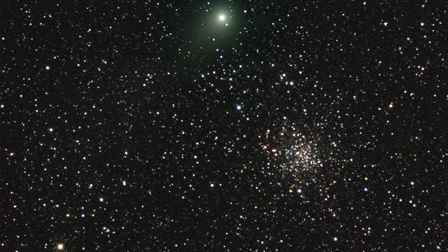 Komet Garradd bei M 71