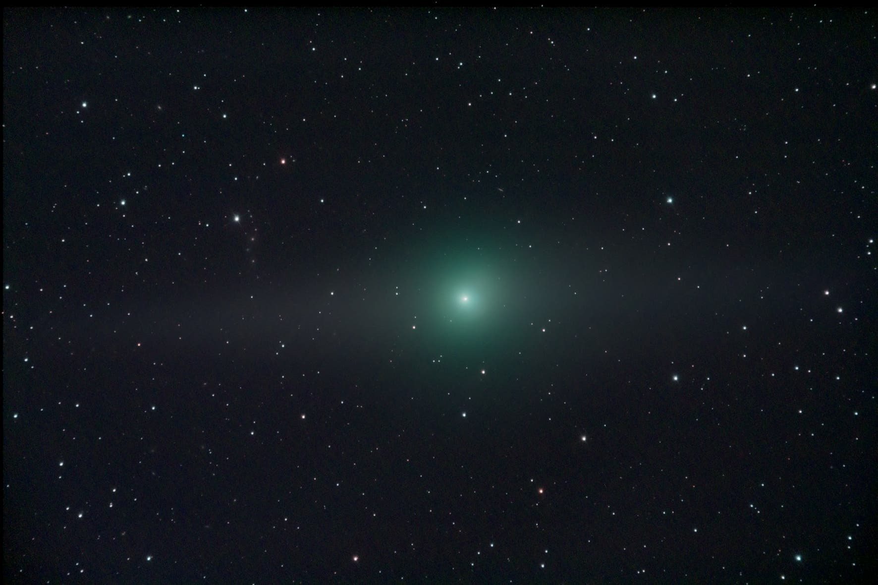 Komet Garradd am 15.2.2012