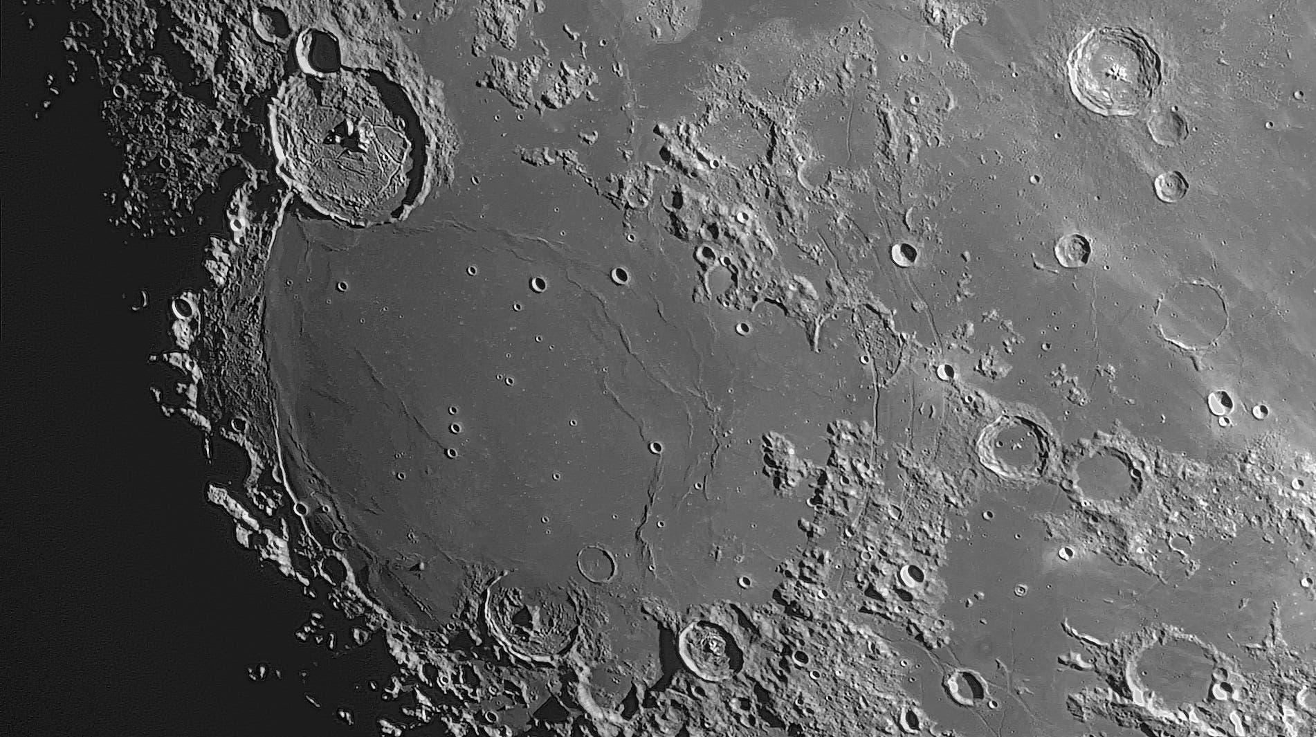 Der Mond am 24. März 2021 (1)