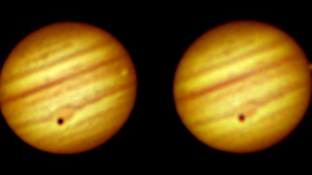 Transit von Callisto und Io über Jupiter am 30. Juli 2021