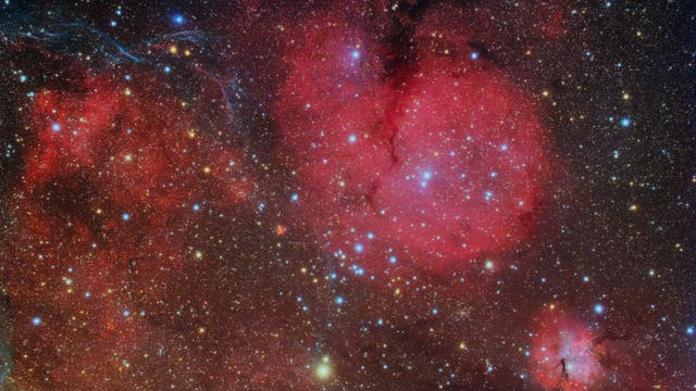 Gum-Nebel im Sternbild Vela