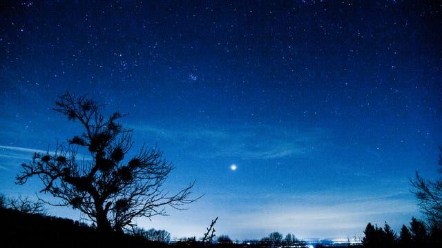 Nachtsilhouette