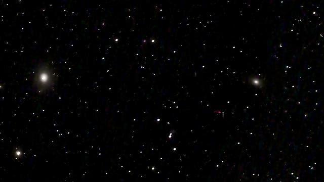 SN 2021 hiz in IC 3322 A in Virgo vom 19. April 2021