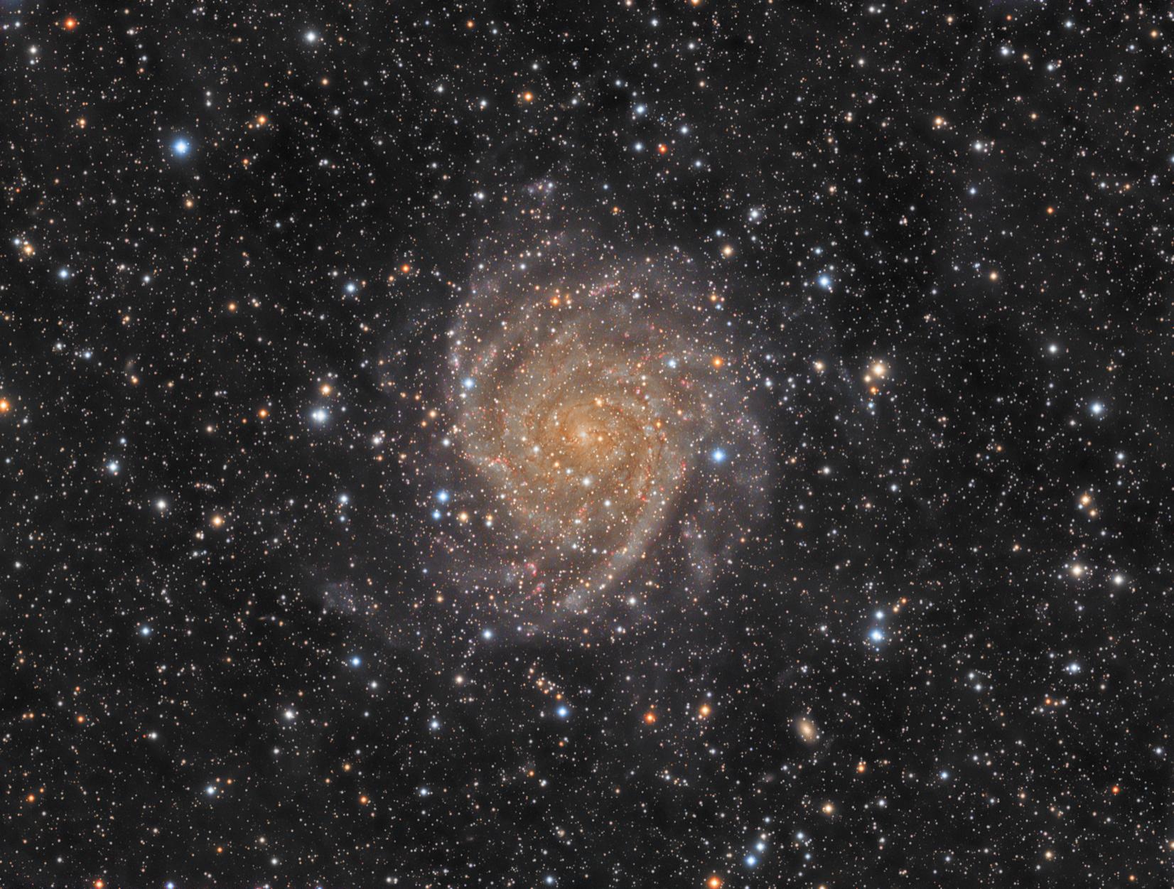 IC342 - Hidden Galaxy