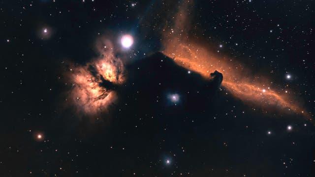 NGC 2024/IC 434 - Flammennebel und Pferdekopfnebel auf Abschiedstournee