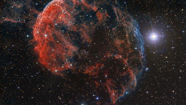 Eine kosmische Qualle