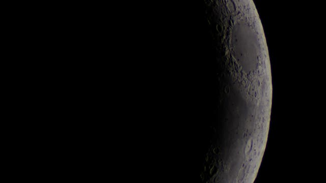 Mond von Sternwarte Remscheid