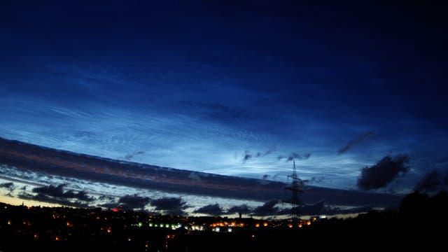 NLC Leuchtende Nachtwolken über Remscheid