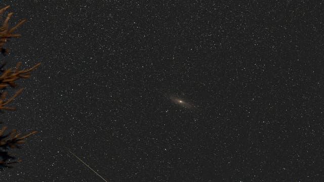 Perseiden grüßen Andromeda