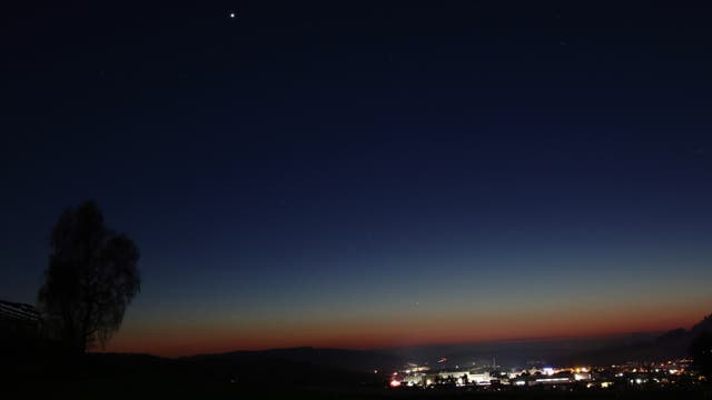 Venus und Merkur über Stockach
