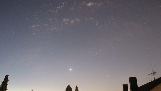 Venus in der beginnenden Morgendämmerung