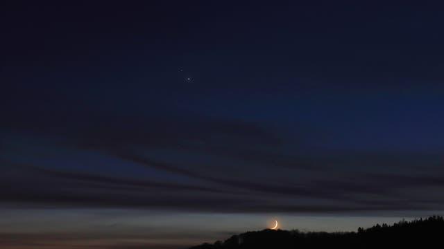 Jupiter & Saturn über Stockach