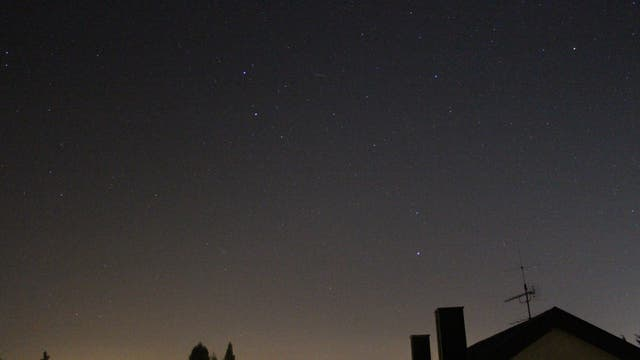Meteor im Sternbild Zwillinge 2