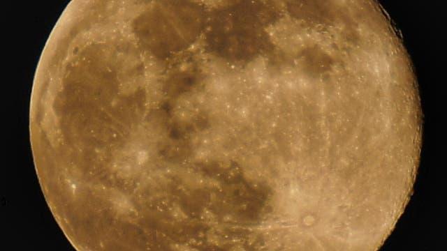Mond über Franken
