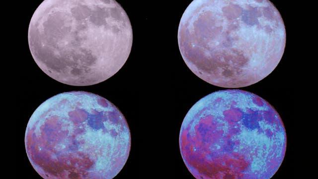 Bunter Mond
