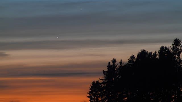 Merkur hat Venus überholt