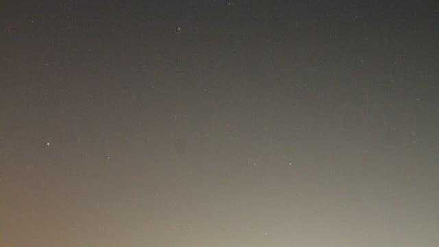 Mars im Sternbild Jungfrau