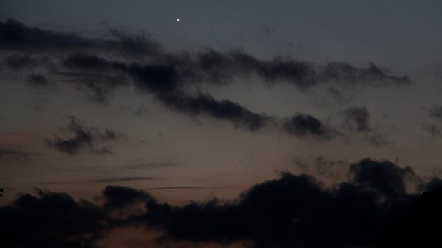 Venus und Merkur