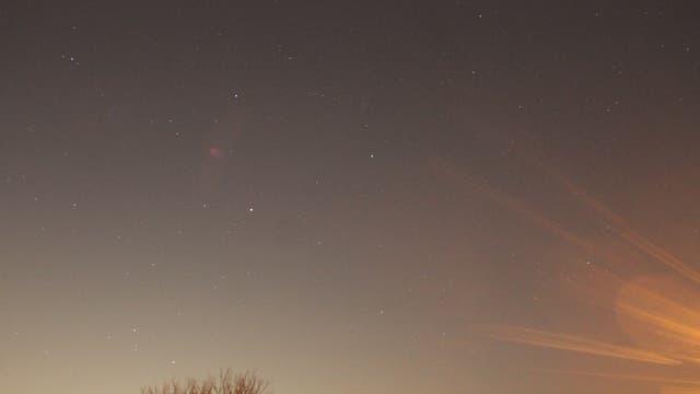 Saturn im Sternbild Waage