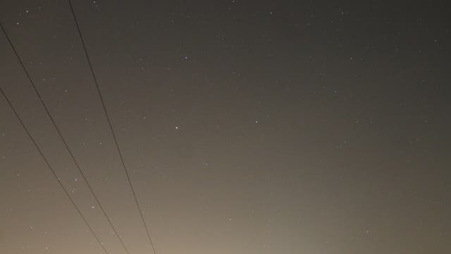 Sternbild Waage mit Saturn