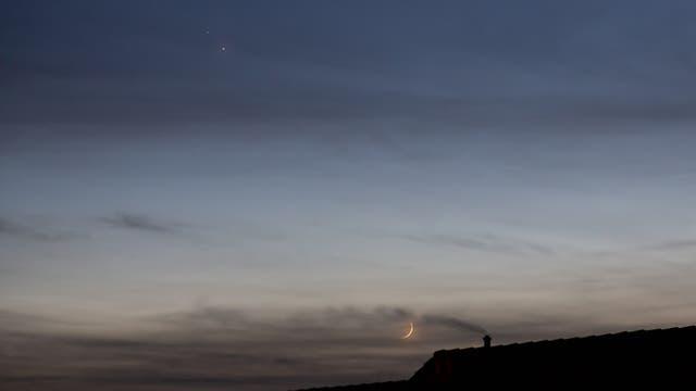 Mond - Jupiter - Saturn