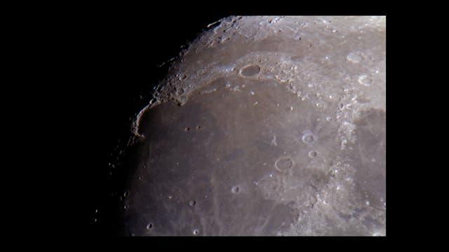 Mond am 15. April 2019