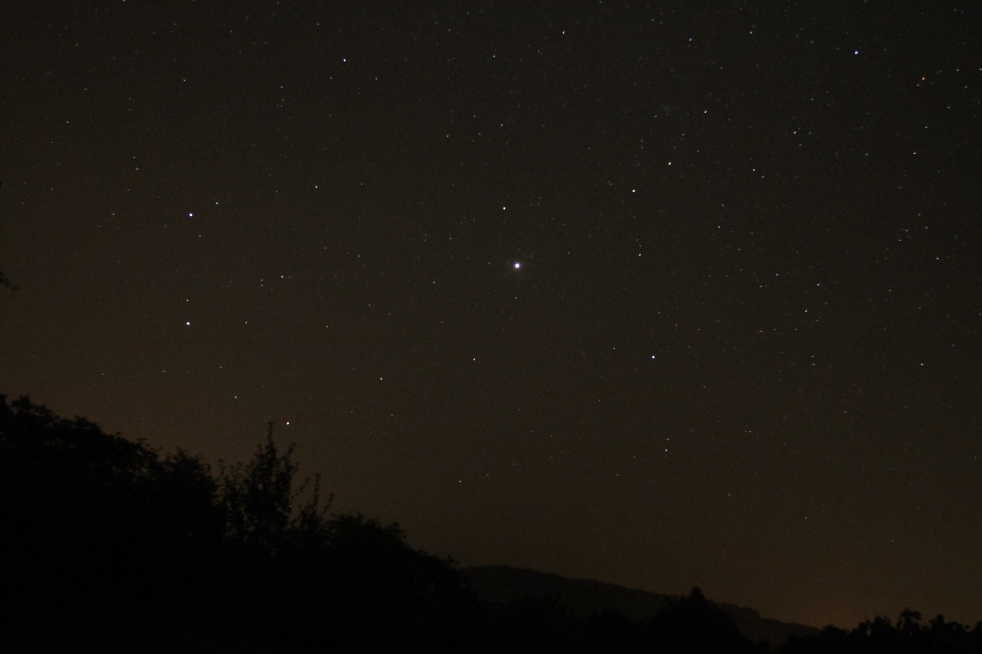 Mars und Jupiter im Sternbild Zwillinge