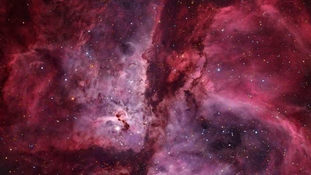Inside the Great Carina and Keyhole Nebulae