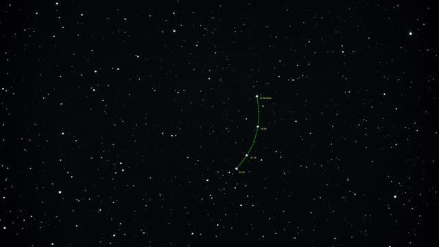 Kleinplanet (7) Iris