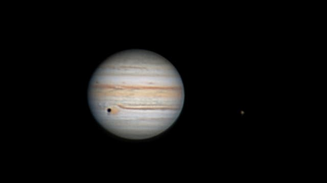 Callistos Schatten trifft GRF
