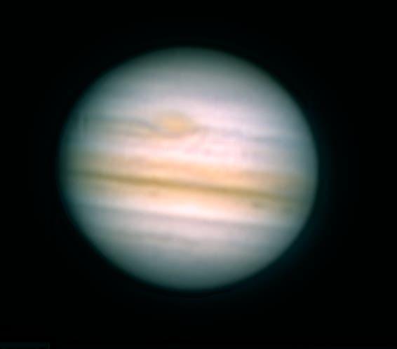 Jupiter mit Großem Rotem Fleck