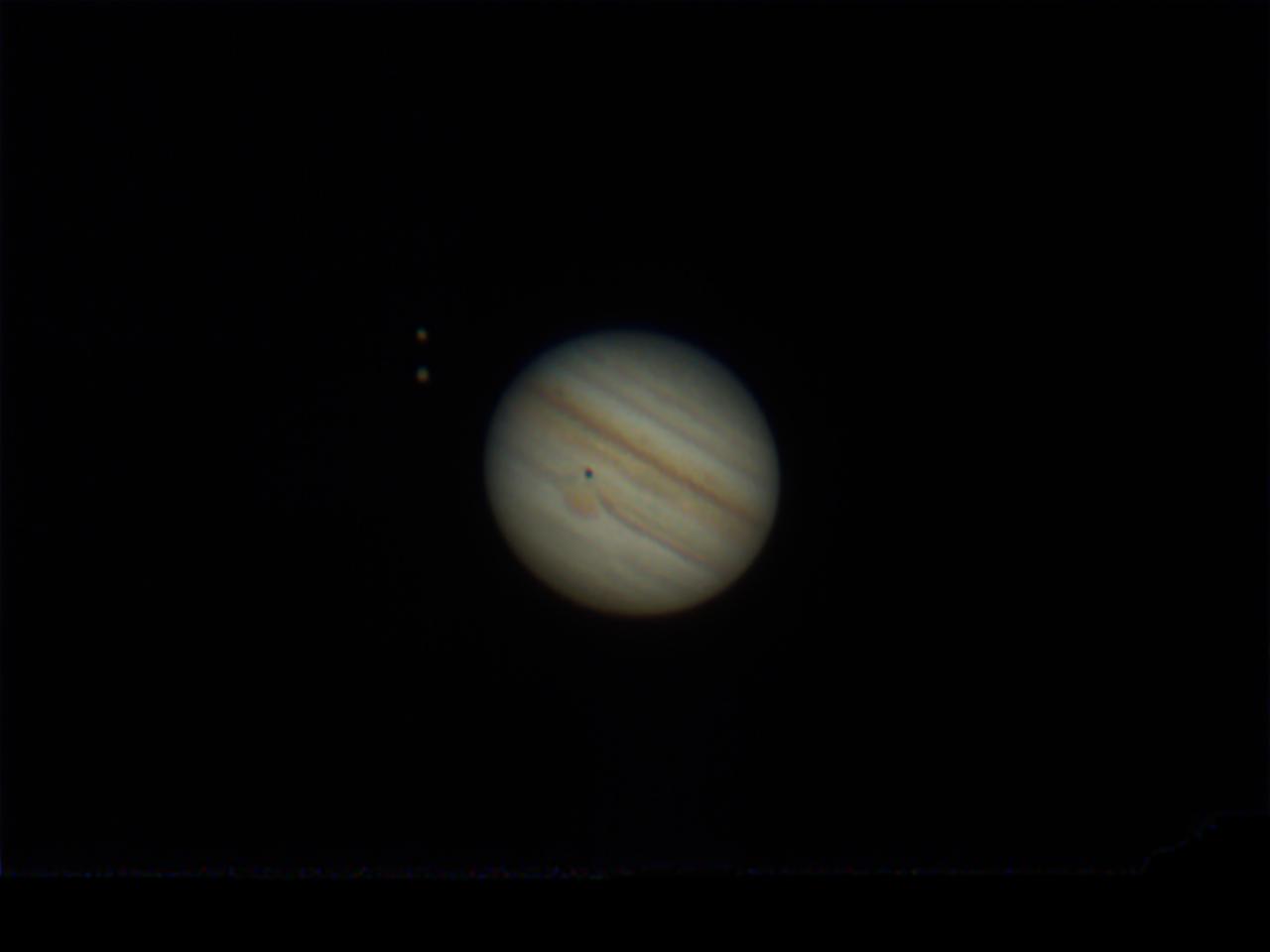 Sonnenfinsternis auf Jupiter am 06.09.2021