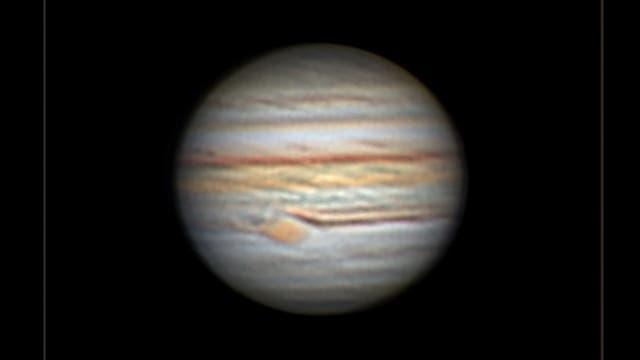 Jupiter in der Nacht vom 3. zum 4. September 2021
