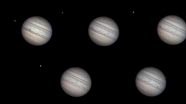 Jupiterimpakt und 45-Cap-Austritt