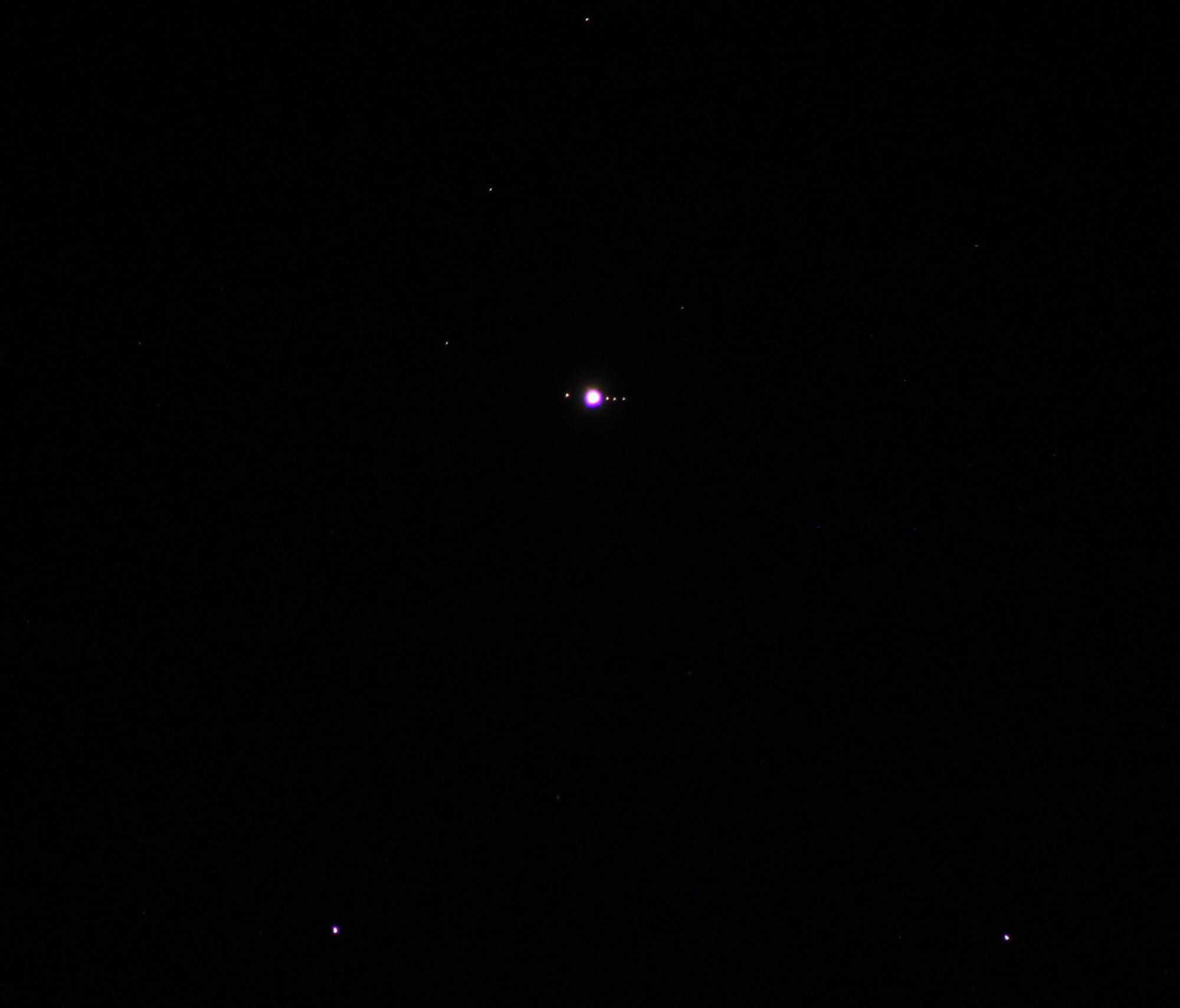 Jupiter mit Monden