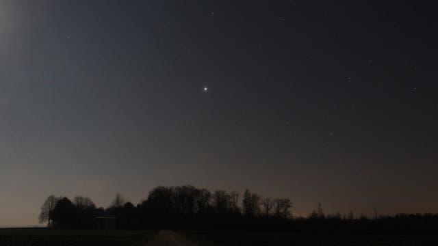 Jupiter am Morgenhimmel