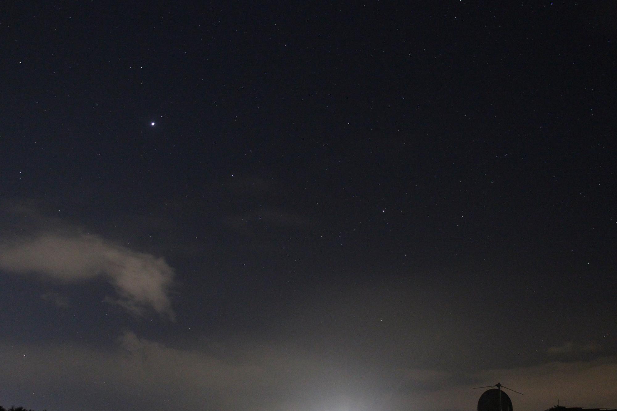 Jupiter und Saturn