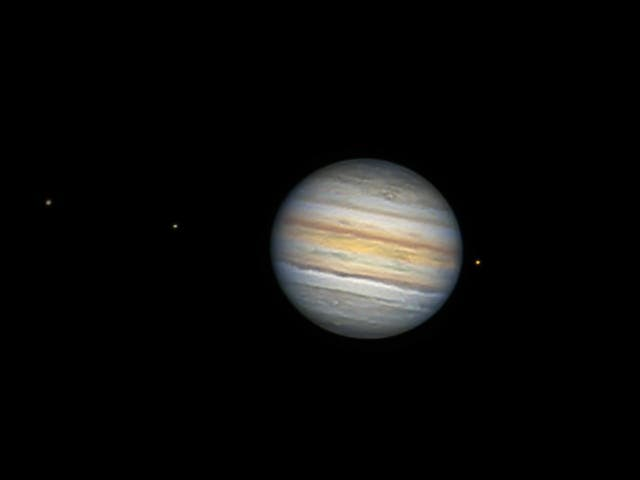 Jupiter am 5. September 2021