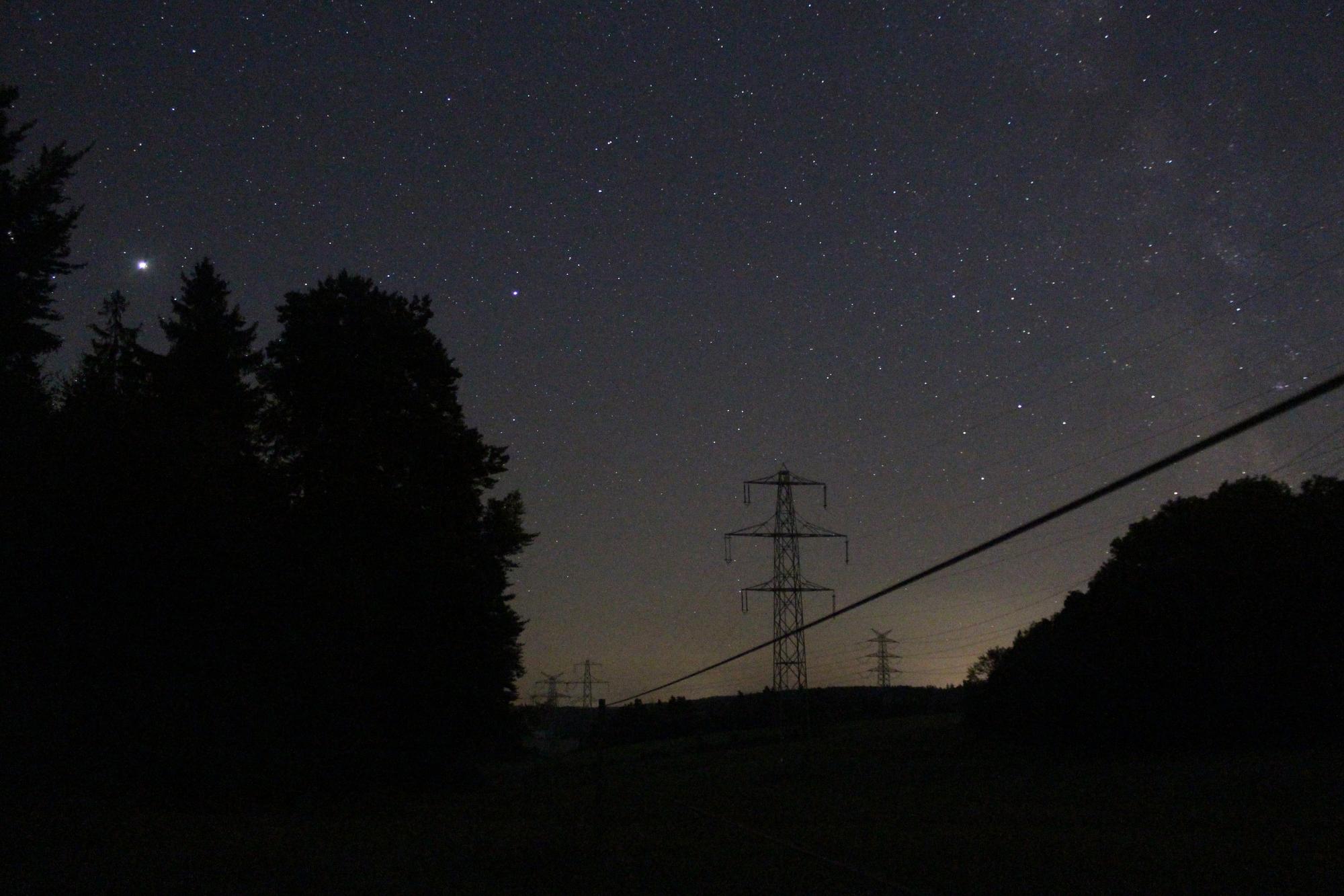 The world at night - Denkmal der Nord-Süd-Leitung